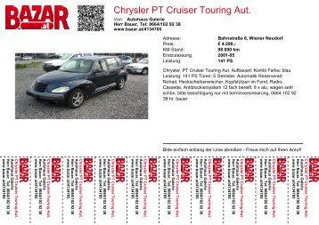 Chrysler PT Cruiser Touring Aut. - Bazar.at