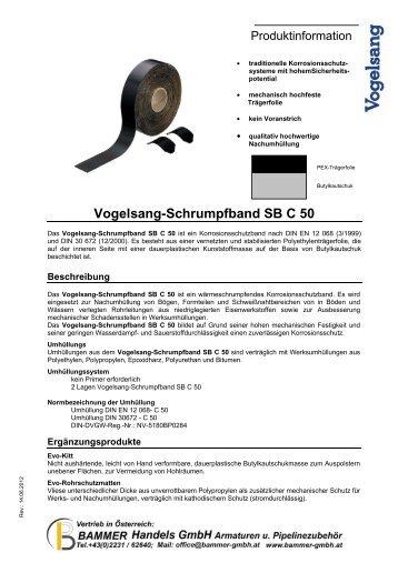 Vogelsang-Schrumpfband SB C 50 - Bammer Handels GmbH