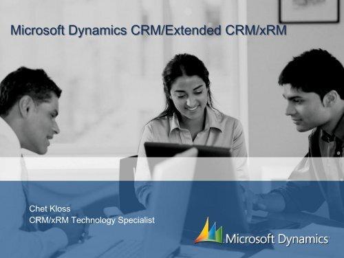 Microsoft Dynamics CRM/Extended CRM/xRM - Socius