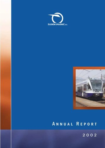 Annual Report 2002 - ZSSK Cargo