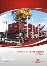 GSP SAT - Diving System