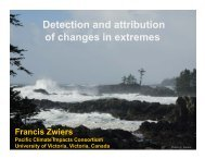 Detection and attribution of changes in extremes