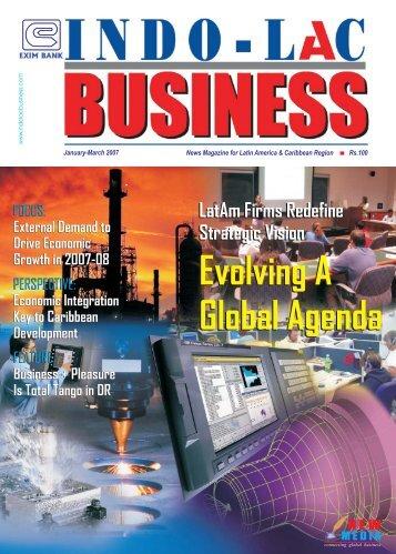 Evolving A Global Agenda Evolving A Global Agenda - new media