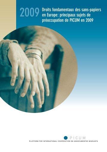 Droits fondamentaux des sans-papiers en Europe ... - PICUM