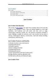 Jaw Crusher PDF Download