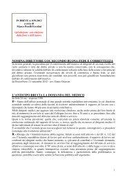 scarica le brevia num° 39 del 2012 - PERELLIERCOLINI.it