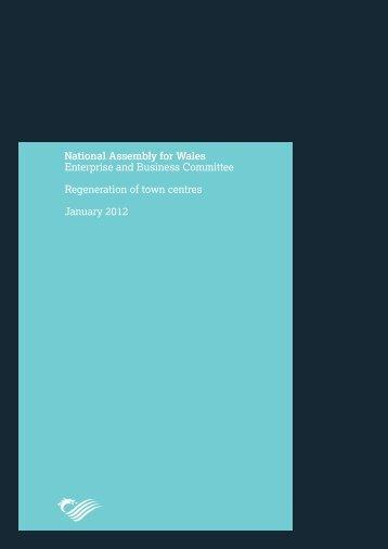 Regeneration of Town Centres Report - Senedd.assemblywales.org ...