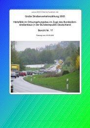 Härtefälle im Ortsumgehungsbau in Deutschland - B30 Oberschwaben