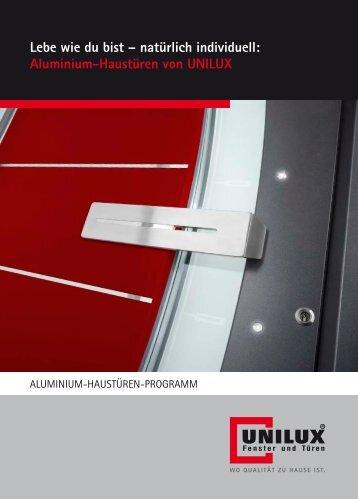 TRENDFenster – Alu-Haustüren - TRENDFenster AG