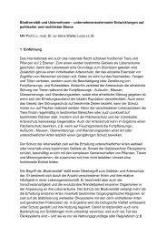 Prof. h.c. mult. Dr. jur. Hans Walter Louis - Biodiversität - schützen ...