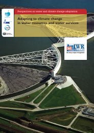 Water Resources and Services - World Water Council