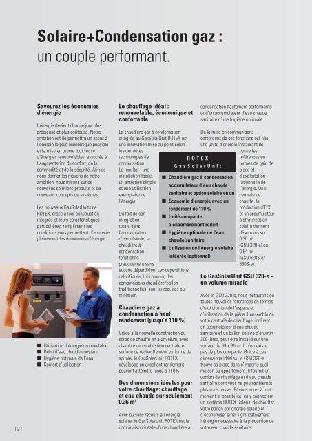 ROTEX GasSolarUnit – Pour le chauffage et l'eau ... - enrdd.com