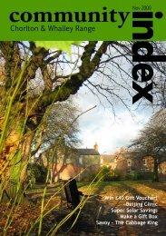 Chorlton & Whalley Range - Community Index