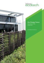 Our Energy Fence - Schlemmer eco-tech