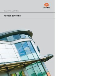Corus Panels And Profiles Façade Systems   Lane Roofing Sc 1 St Yumpu