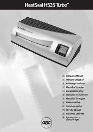 GBC5137 HeatSeal H535 Manual EU - Nobynet