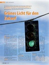 Grünes Licht für den Zukauf - TOHA Automobil- Vertriebs Gmbh
