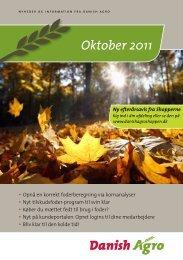 Læs nyhedsbrevet for oktober måned Opnå et korrekt ... - Danish Agro