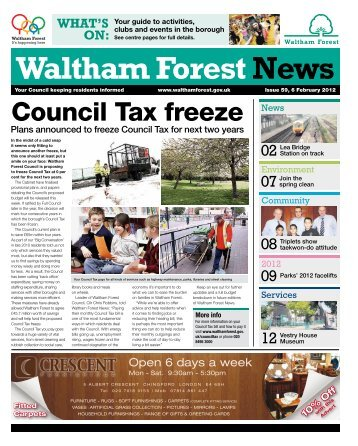 Issue 59: Council Tax freeze - Waltham Forest Council