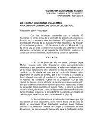 recomendación numero:052/2003. quejosa: gabriela zayas muñoz ...