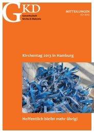 Mitteilungen 2-13.pdf - GKD - Gewerkschaft Kirche und Diakonie