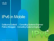 IPv6 in Mobile - Cisco Knowledge Network