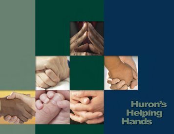 Helping Huron's Hands - Huron Consulting Group