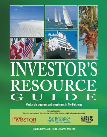 To website - The Bahamas Investor