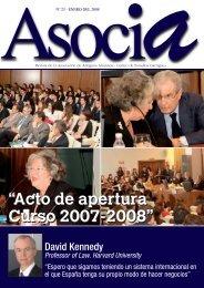 Nº 23, Enero 2008 - Centro de Estudios Garrigues