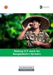 Making ICT work for Bangladesh's farmers - Katalyst