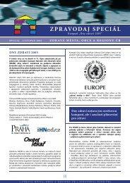 ZPRAVODAJ SPECIÁL - Národní síť Zdravých měst ČR