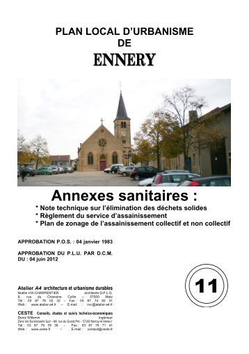 11a Annexes sanitaires - Ennery