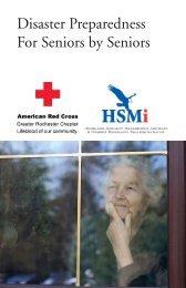Disaster preparedness for seniors by seniors