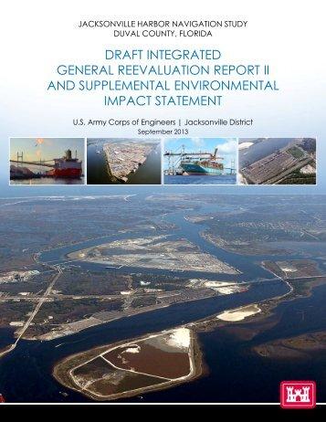 draft Environmental Impact Statement - Jacksonville District - U.S. ...
