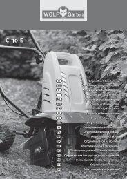 C 30 E - WOLF-Garten NL