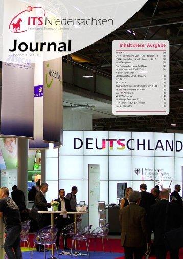 Ausgabe 1, 2013 - ITS Niedersachsen