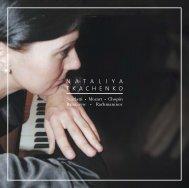 CD-Booklet ansehen - NATALIYA TKACHENKO
