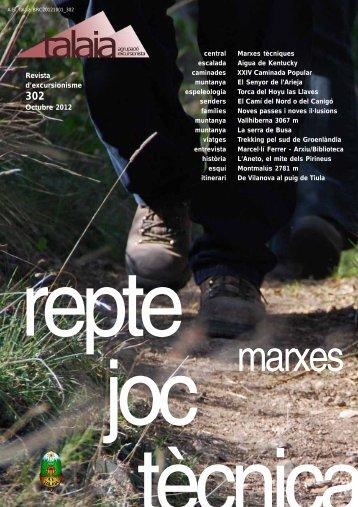 Revista d'excursionisme Octubre 2012 - Biblioteca del Centre ...