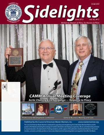 Sidelights June 2012 - Council of American Master Mariners