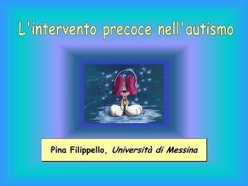 L'intervento precoce nell'autismo (P.Filippello ... - Consorzio Sol.Co.