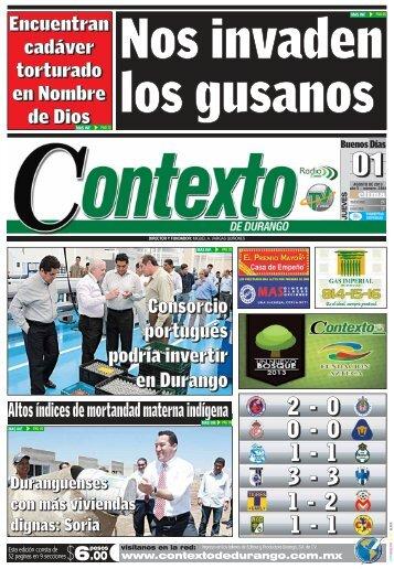 01/08/2013 - Contexto de Durango