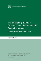 The Missing Link in Growth and Sustainable Development