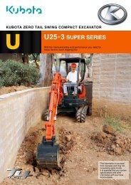 U25 Zero Swing Product Brochure - Super Groups