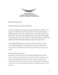 Download PDF of Lecture - International Sufi Movement USA