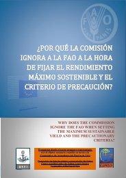 ¿por qué la comisión ignora a la fao a la hora de fijar el ... - Arvi