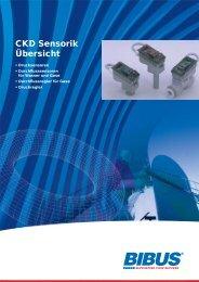 CKD Sensorik Übersicht - BIBUS GmbH
