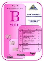 Nota Penerangan B 2010 - Lembaga Hasil Dalam Negeri