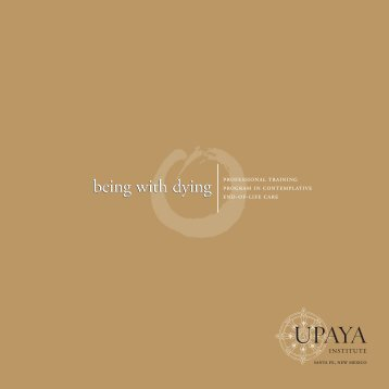 being with dying - Upaya Zen Center