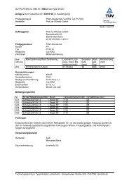 GUTACHTEN zur ABE Nr. 46033 nach §22 StVZO Anlage 2 zum ...