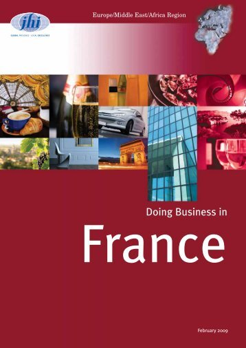 Doing Business in France - JHI